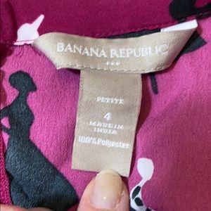 Banana Republic Tops - 🌷Banana Republic Petite Cowl Neck Printed Top